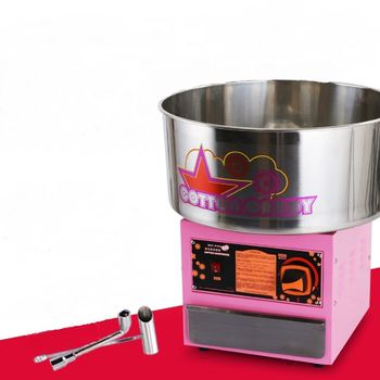THE URBAN KITCHEN Fancy Art Stainless Steel Commercial Gas Cotton Candy Machine Cotton Candy Maker LPG Gas