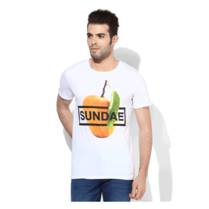 United Colors of Benetton Sundae T-Shirt,  white, m