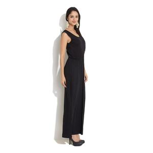 Amari West Touch Of Crochet Maxi Dress,  black, l