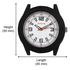 Sonata 798412Pp01 Black/White Analog Watch