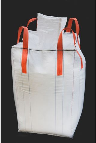 Tubular Bags, 90x90x150, 1250 kg, 5: 1, Top: Spout, Bottom: Spout