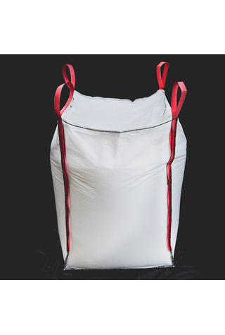 4 Panel Bags, 90x90x200, 1250 kg, 5: 1, Top: Skirt, Bottom: Spout