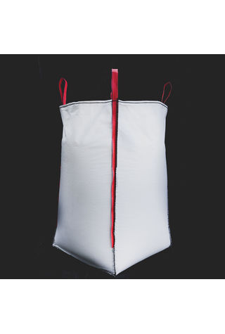 U Panel Bags, 90x90x120, 1250 kg, 5: 1, Top: Skirt, Bottom: Flat