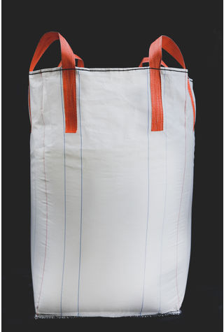 Tubular Bags, 90x90x90, 1000 kg, 5: 1, Top: Skirt, Bottom: Spout