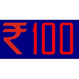 Service Fee Payment INR 100