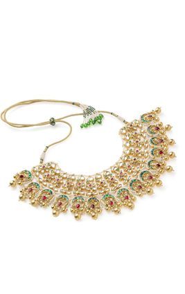 MULTI CHAND NECKLACE SET