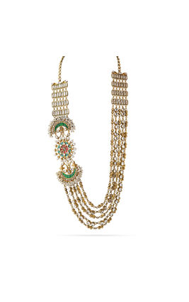 MULTI KUNDAN STONE POLKI AASHNA NECKLACE