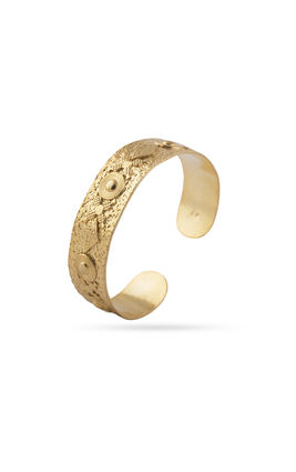GOLDEN PLATING ROUND DESIGN BRACELET