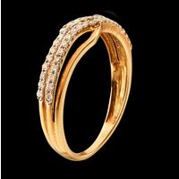 Diamond Ring, 0.25cts, 18k 1.54gms, e/f-vvs