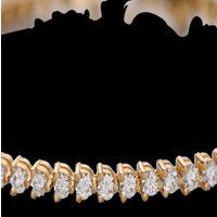Diamond Bracelet, 18k  8.90gms, e/f-vvs1  2.71cts