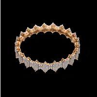 Diamond Bangles, 18k  21.87gms, e/f-vvs1  3.70cts