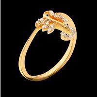 Diamond Ring, 0.18cts, 18k 2.50gms, e/f-vvs