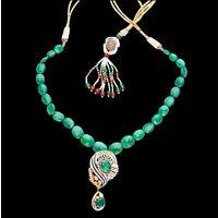 Diamond Necklace, 6.10cts, 18k 15.50gms, e/f-vvs1
