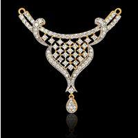 Diamond Tanmaniya, 2.45cts, 18k 6.35gms, e/f-vvs