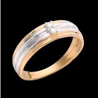 Diamond Ring, 0.07cts, 18k 4.80gms, e/f-vvs