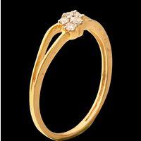 Diamond Ring, 0.06cts, 18k 1.30gms, e/f-vvs