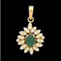 Diamond Pendant, 1.60cts, 18k 6.70gms, e/f-vvs