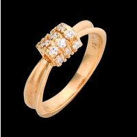 Diamond Ring, 0.33cts, 18k 3.66gms, e/f-vvs
