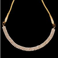 Diamond Necklace, 7.17cts, 18k 23.40gms, e/f-vvs1