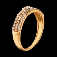 Diamond Ring, 0.51cts, 18k 2.23gms, e/f-vvs