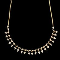 Diamond Necklace, 2.48cts, 18k 17.35gms, e/f-vvs1