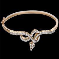 Diamond Bracelet, 18k  16.18gms, e/f-vvs1  0.95cts