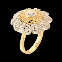 Diamond Ring, 1.65cts, 18k 7.85gms, e/f-vvs