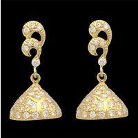 Diamond Earrings, 0.60cts, 18k 5.89gms, e/f-vvs