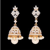Diamond Earrings, 2.28cts, 18k 18.95gms, e/f-vvs