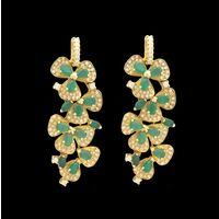 Diamond Earrings, 0.77cts, 18k 7.71gms, e/f-vvs