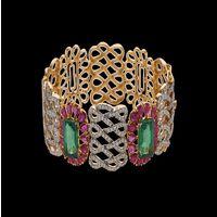 Diamond Bracelet, 18k  37.70gms, e/f-vvs1  3.31cts