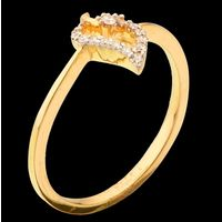 Diamond Ring, 0.16cts, 18k 1.58gms, e/f-vvs