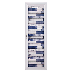 Blue brick Sierra Doors, 30 mm, 6.50x2.50  feet