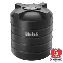 Sintex ISI Double Layer Water Tanks, black, 1000 litres