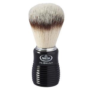 Omega 0146081 HI-BRUSH fiber Badger Effect Shaving brush