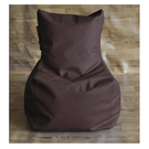 Style Homez Chair Filled Bean Bag, l,  brown