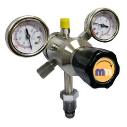 Mighty Mounts STAINLESS STEEL Two Stage Nitrogen Pressure Regulator (MM229)