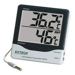 Extech 401014- Big Digit Indoor/Outdoor Thermometer (EXT11)
