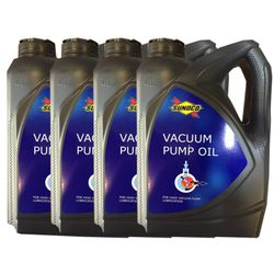 Sunoco 4 Ltr. Vacuum Pump Oil (Pack of 4 cans) SO05
