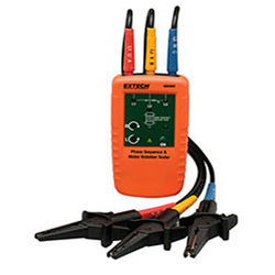 Extech 480403- Motor Rotation and 3-Phase Tester (EXT27)