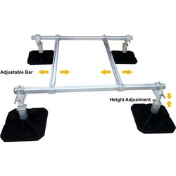 Mighty Mounts Mighty foot Modular Framework Upto 250 Kg. (MM93)