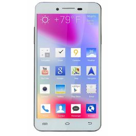 """Teeno T5 4.5"""" Quad Core High Performance 3G Dual SIM Smart Phone, white, 7 days return / replacement policy after delivery , generally delivered by 5 working days"""
