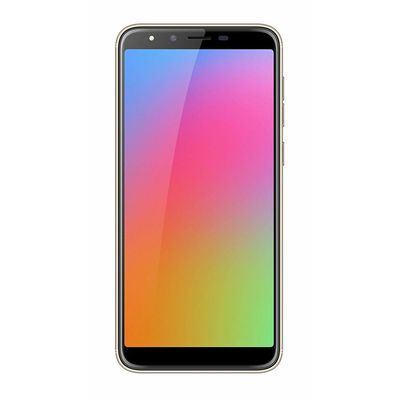 Homtom H5 3GB+ 32GB Dual Camera+ Screen Replacement with FP Sensor and Face Unlock with Full Metal Body (Golden)
