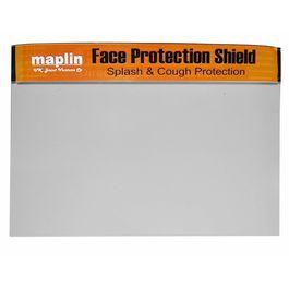 Maplin Face Shield Safety Mask Polypropylene(PP) Neutral Color (Pack of 5)