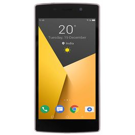 Ginger Model Earth 4G (VoLTe Not Support) Smartphone with 5-inch 2GB RAM and 16GB ROM 4G smartphone in Gold colour, gold, generally delivered by 5 working days, 7 days return / replacement policy after delivery