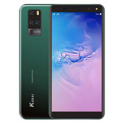 Kekai Aqua 4G Smartphone (2GB 16GB) Volte (Jio sim Supported) 5.5  Inch Display 4G Smartphone (2GB RAM, 16GB Storage) in Arrogant Green