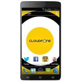 Cloudfone special edition with Intel Atom X3 Android 5.1 Lolipop 2 GB RAM Dual-SIM 8MP Camera Phone, black, 7 days return / replacement policy after delivery