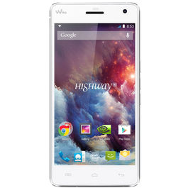 Wiko Highway 4G Jio 4G sim not supported 4G Mobile Phone with 5 inch screen 16 GB Internal 2 GB RAM 16Mp Camera, White, white, 7 days return / replacement policy after delivery , generally delivered by 5 working days