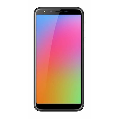 Homtom H5 3GB+ 32GB Dual Camera+ Screen Replacement with FP Sensor and Face Unlock with Full Metal Body ( Black)