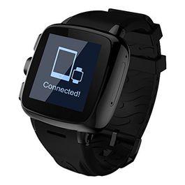 Intex Irist Black Watch - Small/Medium Band -SWIR4ORG smartwatch in Black Colour